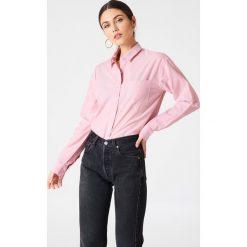 Koszule wiązane damskie: Rut&Circle Batystowa koszula Selma – Pink