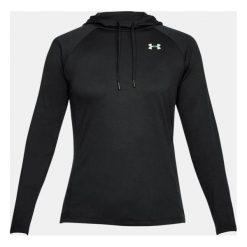 Bluzy sportowe damskie: Under Armour Bluza damska Tech LS Hood 2.0 – Solid czarna r. S (1311502-001)