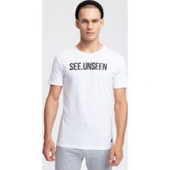 T-shirty męskie: T-shirt męski TSM253 - biały