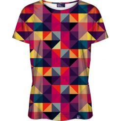 Colour Pleasure Koszulka damska CP-030 12 fioletowo-różowa r. XL/XXL. Czerwone bluzki damskie Colour pleasure, xl. Za 70,35 zł.