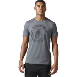 Reebok Koszulka Spin Tee szara r. S (BK5227). Szare t-shirty męskie Reebok, m. Za 83,20 zł.