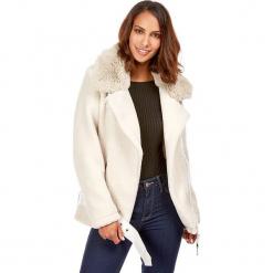 Kurtka zimowa w kolorze kremowym. Białe kurtki damskie zimowe marki Snowie Collection, s. W wyprzedaży za 227,95 zł.