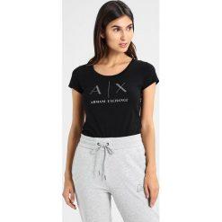 T-shirty męskie z nadrukiem: Armani Exchange Tshirt z nadrukiem black
