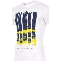 4f Koszulka H4L17-TSM022 biała r. S (H4L17-TSM022). Białe t-shirty męskie marki 4f, l. Za 60,61 zł.