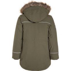Mikkline BOYS Płaszcz zimowy dusty olive. Niebieskie kurtki chłopięce zimowe marki mikk-line, z jeansu. W wyprzedaży za 407,20 zł.