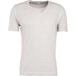 T-shirty męskie: 120% Lino UOMO Tshirt basic light grey