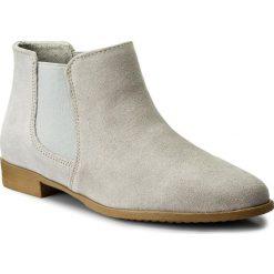 Buty zimowe damskie: Sztyblety TAMARIS - 1-25038-20 Light Grey 204