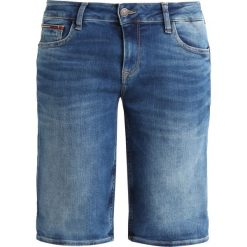 Bermudy damskie: Tommy Jeans CLASSIC LONGER Szorty jeansowe florida mid blue