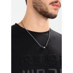 Naszyjniki męskie: Emporio Armani Naszyjnik silvercoloured/black