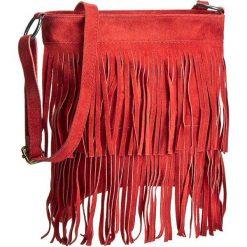 Torebka CREOLE - RBI10156 Czerwony. Czerwone listonoszki damskie Creole, ze skóry. Za 139,00 zł.