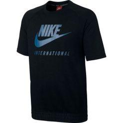 Nike Koszulka męska NK INTL CRW SS czarna r. M (834306-010-S). Czarne koszulki sportowe męskie marki Nike, m. Za 244,37 zł.