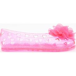 Transparentne baleriny z brokatem - Różowy. Brązowe baleriny dziewczęce marki Reserved. Za 24,99 zł.