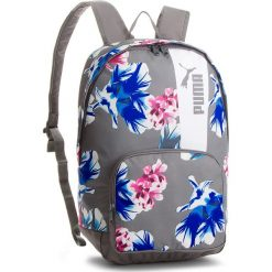 Plecaki damskie: Plecak PUMA - Core Style Backpack 075169 06 Steel Gray/Flower Graphic