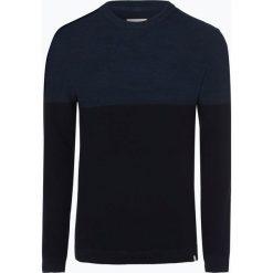 Minimum - Sweter męski – Pelle 2.0, niebieski. Szare swetry klasyczne męskie marki TOMMY HILFIGER, l, z bawełny, z okrągłym kołnierzem. Za 299,95 zł.
