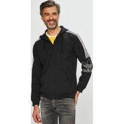 Adidas Originals - Bluza. Czarne bluzy męskie rozpinane marki adidas Originals, z materiału. Za 379,90 zł.