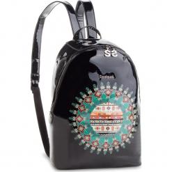 Plecak DESIGUAL - 18WAXO04 2000. Czarne plecaki damskie Desigual, ze skóry ekologicznej. W wyprzedaży za 239,00 zł.
