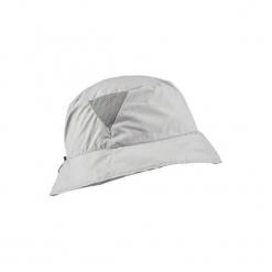 Kapelusz trekkingowy TREK 100 LIGHT ultra compact. Białe kapelusze damskie marki TRIBORD, z bawełny. W wyprzedaży za 14,99 zł.