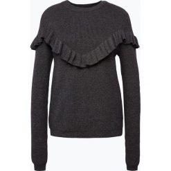 Swetry klasyczne damskie: Review – Sweter damski, szary