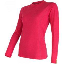 Sensor Koszulka Termoaktywna Z Długim Rękawem Merino Wool Active W Magenta S. Czerwone bluzki sportowe damskie Sensor, s, z materiału, z długim rękawem. Za 215,00 zł.