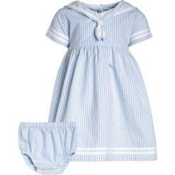 Sukienki dziewczęce z falbanami: JoJo Maman Bébé NAUTICAL BABY DRESS Sukienka koszulowa blue