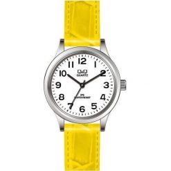 Zegarki damskie: Zegarek Q&Q Damski C215-810 Klasyczny