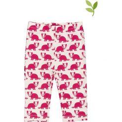 Spodnie niemowlęce: Spodnie w kolorze jagodowym