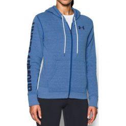 Bluzy rozpinane damskie: Under Armour Bluza damska Favorite FZ Hoodie niebieska r. M (1302361-984)
