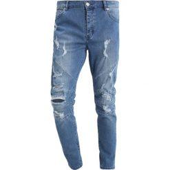Jeansy męskie regular: Cayler & Sons ALLDD PANELED IAN PANTS Jeansy Slim Fit mid blue