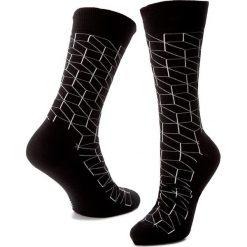 Skarpety Wysokie Męskie HAPPY SOCKS - OP01-909 Czarny. Czarne skarpetki męskie Happy Socks, z bawełny. Za 34,90 zł.