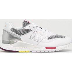 New Balance - Buty WL840AA. Czerwone buty sportowe damskie marki New Balance, z gumy. W wyprzedaży za 339,90 zł.
