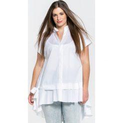 Tuniki damskie eleganckie: Rozkloszowana tunika z krótkim rękawem