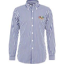 Polo Ralph Lauren Koszula blue/white. Szare koszule męskie marki Polo Ralph Lauren, l, z bawełny, button down, z długim rękawem. Za 509,00 zł.