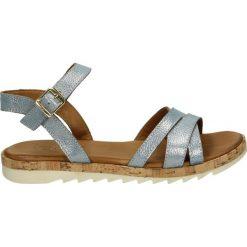 Sandały damskie: Sandały – 214403 FLO BL