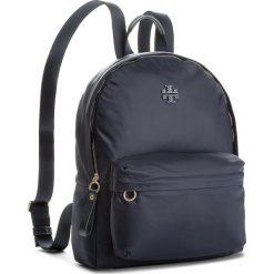 Plecak TORY BURCH - Nylon Backpack 47277 Tory Navy 405. Niebieskie plecaki damskie Tory Burch, z nylonu. W wyprzedaży za 849,00 zł.