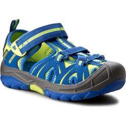 Sandały MERRELL - Hydro MC56929 Blue/Citron. Niebieskie sandały męskie skórzane marki Merrell. W wyprzedaży za 159,00 zł.