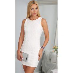 Sukienki: Sukienka Kremowa BB20235