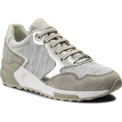 Sneakersy GEOX - D Phyteam B D824DB 06K22 C1236 White/Lt Grey. Szare sneakersy damskie Geox, z materiału. W wyprzedaży za 289,00 zł.