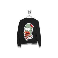 Bluza Homer Zombi Męska. Czarne bluzy męskie Failfake, xs. Za 160,00 zł.