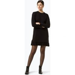Tommy Hilfiger - Sukienka damska – Joelle, czarny. Czarne sukienki z falbanami marki TOMMY HILFIGER, l, z falbankami. Za 599,95 zł.