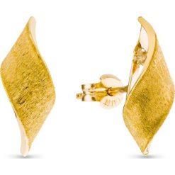 Kolczyki damskie: RABAT Kolczyki Złote – złoto żółte 333
