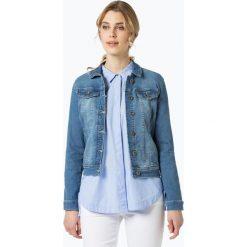 More & More - Damska kurtka jeansowa, niebieski. Niebieskie bomberki damskie More & More, z jeansu. Za 399,95 zł.
