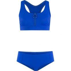 Bikini z biustonoszem bustier (2 części), zrównoważony produkt bonprix błękit królewski. Niebieskie bikini bonprix. Za 89,99 zł.
