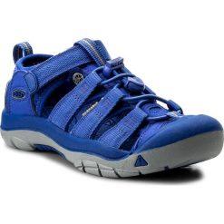 Sandały KEEN - Newport H2 1018277 Surf The Web. Niebieskie sandały chłopięce marki Keen, z materiału. W wyprzedaży za 189,00 zł.