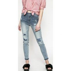 Morgan - Jeansy PMELI PANTALON. Niebieskie jeansy damskie Morgan. W wyprzedaży za 199,90 zł.