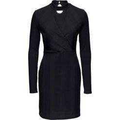 """Sukienki: Sukienka z dżerseju z opaską """"choker"""" bonprix czarny"""