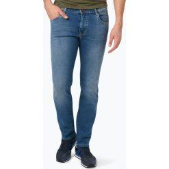 Bugatti - Jeansy męskie – Hannover, niebieski. Niebieskie jeansy męskie regular Bugatti. Za 449,95 zł.
