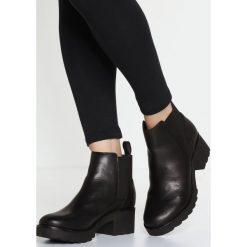 ALDO JANOWITZ Ankle boot black. Czarne botki damskie skórzane ALDO. Za 459,00 zł.