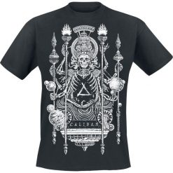 T-shirty męskie: Caliban Lotus God T-Shirt czarny