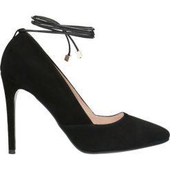 Czółenka MELANIA. Czarne buty ślubne damskie marki Gino Rossi, ze skóry, na szpilce. Za 249,90 zł.