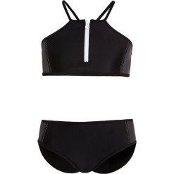 Stroje dwuczęściowe dziewczęce: Seafolly COLOUR BLOCK TANKINI Kostium kąpielowy black